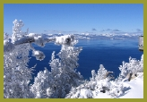 Winter wonderland at Lake Tahoe